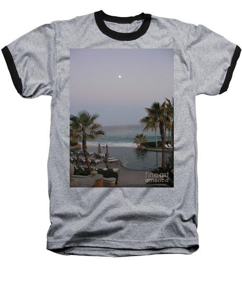 Cabo Moonlight Baseball T-Shirt by Susan Garren
