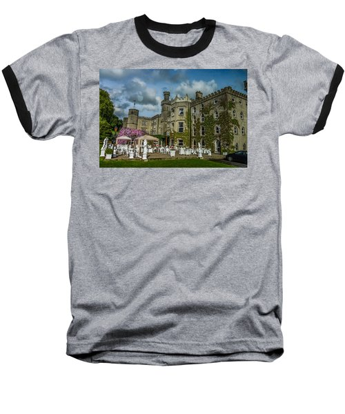 Cabra Castle - Ireland Baseball T-Shirt by Marilyn Burton