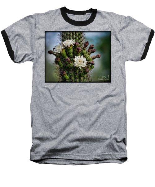 Cacti Bouquet  Baseball T-Shirt