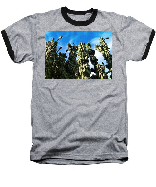 Baseball T-Shirt featuring the photograph Cactus 1 by Mariusz Kula