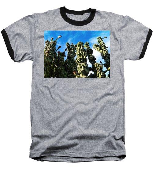 Cactus 1 Baseball T-Shirt