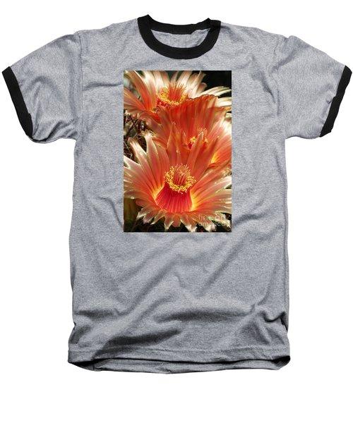 Cactus Blossoms Baseball T-Shirt