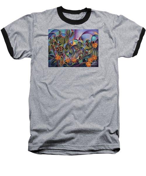 Cactus Dinamicus 3d Baseball T-Shirt
