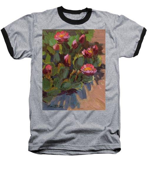 Cactus In Bloom 2 Baseball T-Shirt