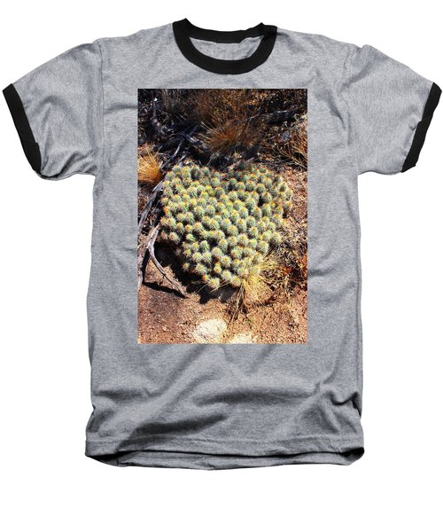Baseball T-Shirt featuring the photograph Cacti Need Love Too by Natalie Ortiz