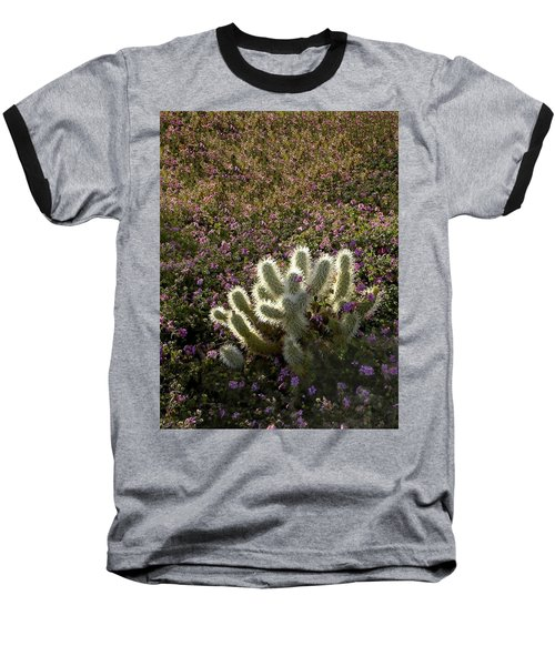 Cactus Surprise Baseball T-Shirt