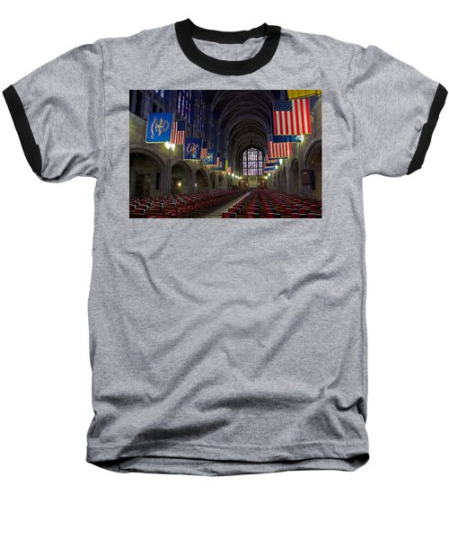 Cadet Chapel At West Point Baseball T-Shirt