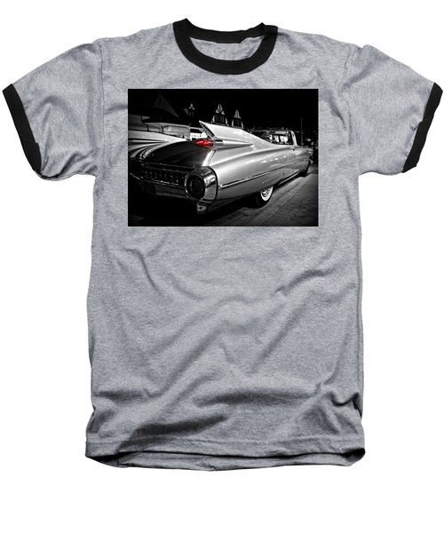 Cadillac Noir Baseball T-Shirt