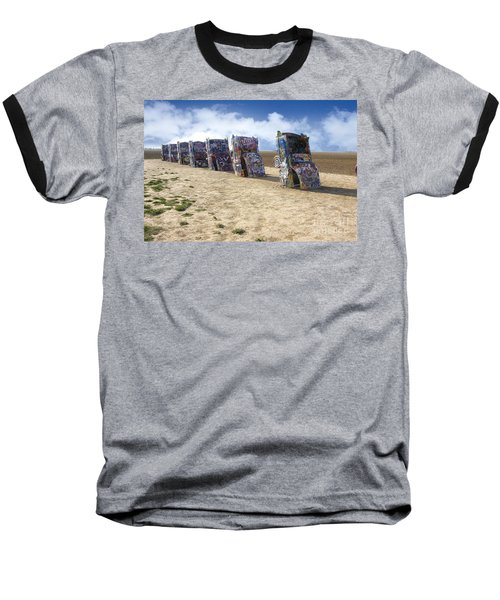 Cadillac Ranch Baseball T-Shirt