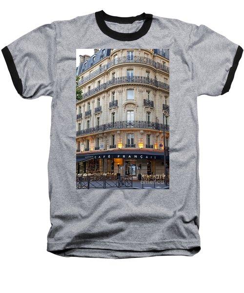 Cafe Francais Baseball T-Shirt