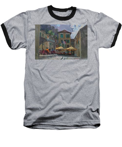 Cafe In Old City Baseball T-Shirt