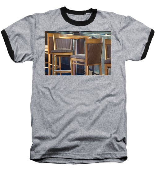Baseball T-Shirt featuring the photograph Cafe by Patricia Babbitt