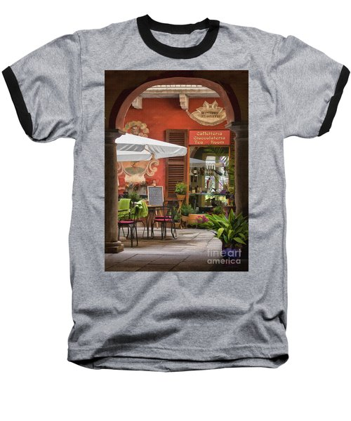 Caffeteria Orta San Guilio Baseball T-Shirt