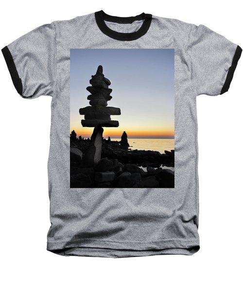 Cairns At Sunset At Door Bluff Headlands Baseball T-Shirt