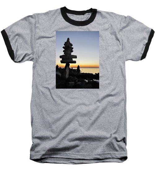 Cairns At Sunset At Door Bluff Headlands Baseball T-Shirt