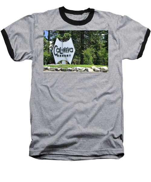 Cal Neva Resort - Lake Tahoe Baseball T-Shirt