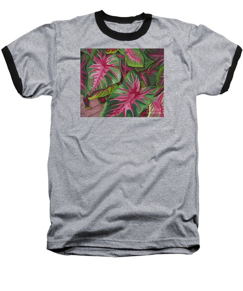 Caladiums Baseball T-Shirt