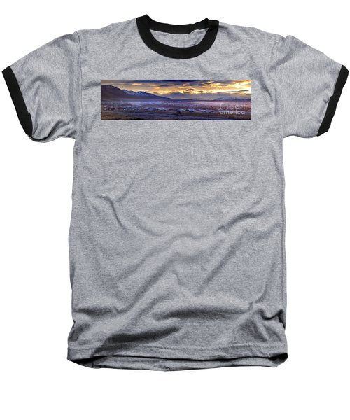 Calafate Panoramic Baseball T-Shirt by Bernardo Galmarini