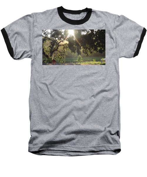 Baseball T-Shirt featuring the photograph Cali Lite by Shawn Marlow