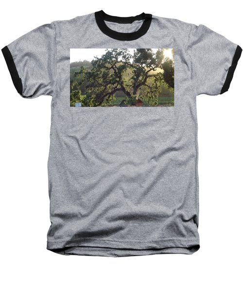 Baseball T-Shirt featuring the photograph Cali Setting by Shawn Marlow