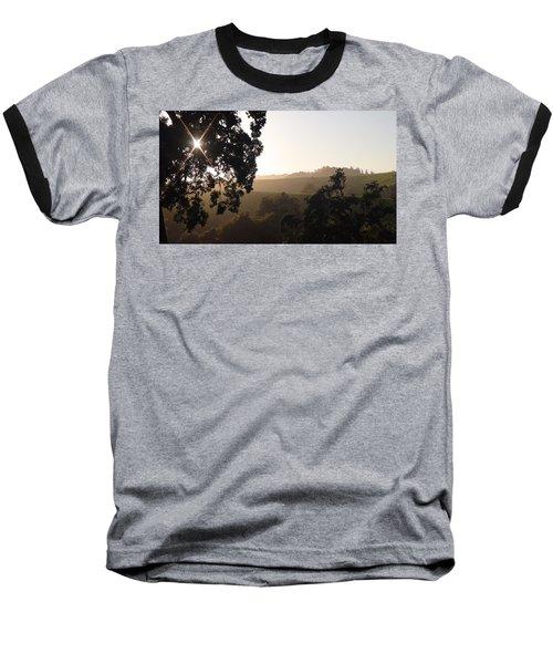 Baseball T-Shirt featuring the photograph Cali Sun Set by Shawn Marlow