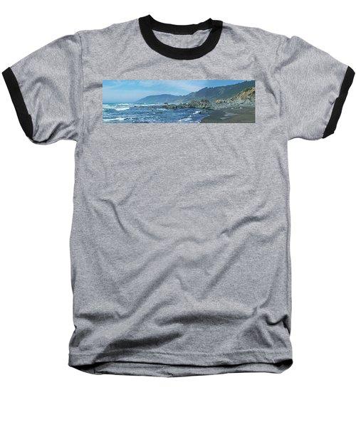 California Beaches 3 Baseball T-Shirt