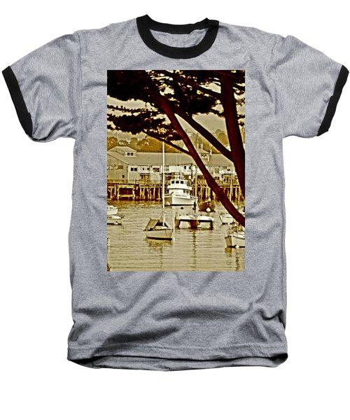 California Coastal Harbor Baseball T-Shirt