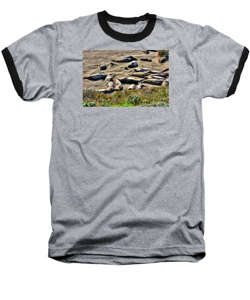Baseball T-Shirt featuring the photograph California Dreaming by Jim Carrell