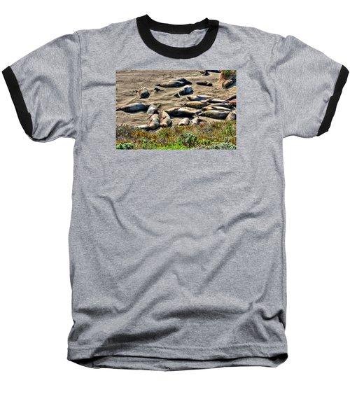 California Dreaming Baseball T-Shirt by Jim Carrell
