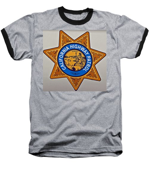 California Highway Patrol Baseball T-Shirt