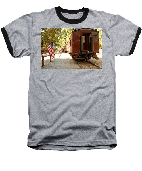 California Western Railroad Baseball T-Shirt