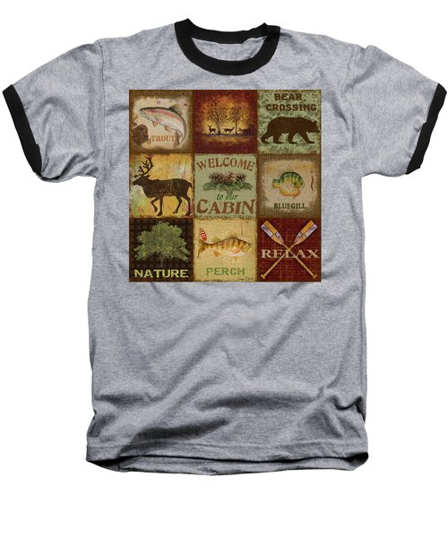 Call Of The Wilderness Baseball T-Shirt