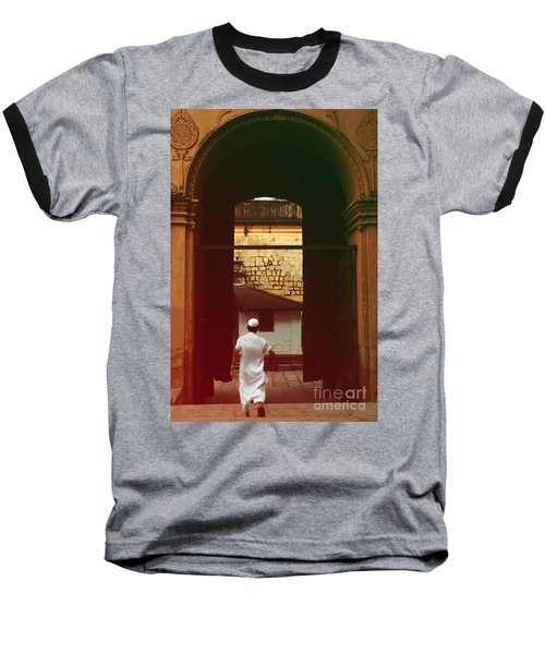 Baseball T-Shirt featuring the photograph Call To Prayer by Mini Arora