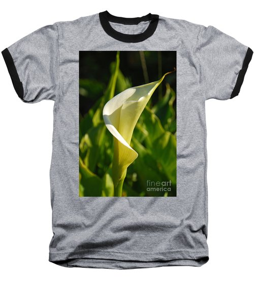 Baseball T-Shirt featuring the photograph Calla Lily by Mary Carol Story