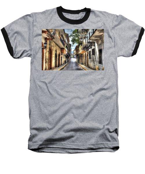Calle 8a Este Baseball T-Shirt