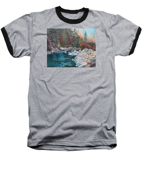 Calling Me Home Baseball T-Shirt by Patricia Olson