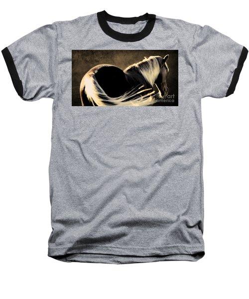 Calm Awareness 1 Vignette Baseball T-Shirt