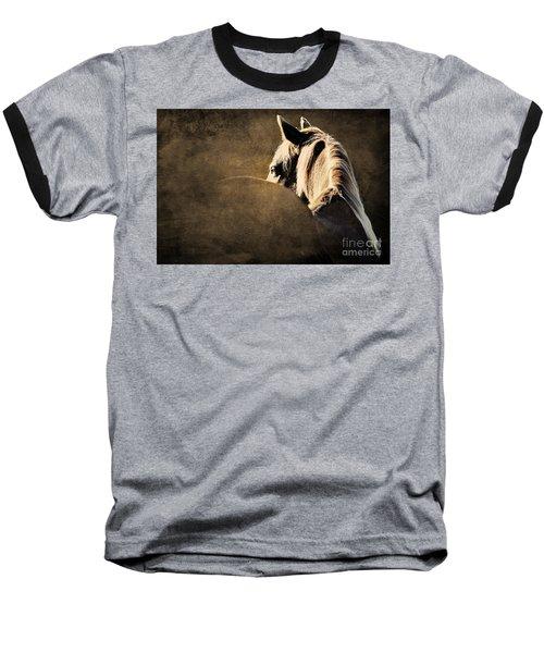 Calm Awareness 2 Vignette Baseball T-Shirt