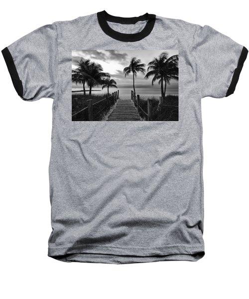 Calm Before Storm Baseball T-Shirt