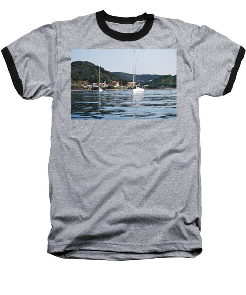 Calm Sea 2 Baseball T-Shirt by George Katechis