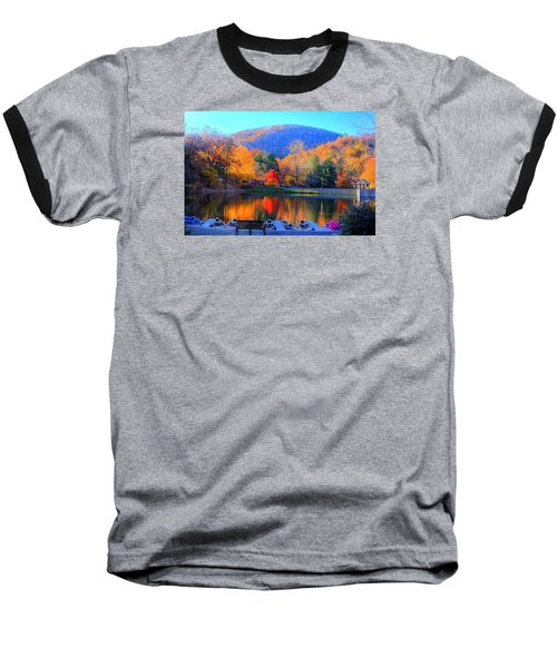 Calm Waters In The Mountains Baseball T-Shirt