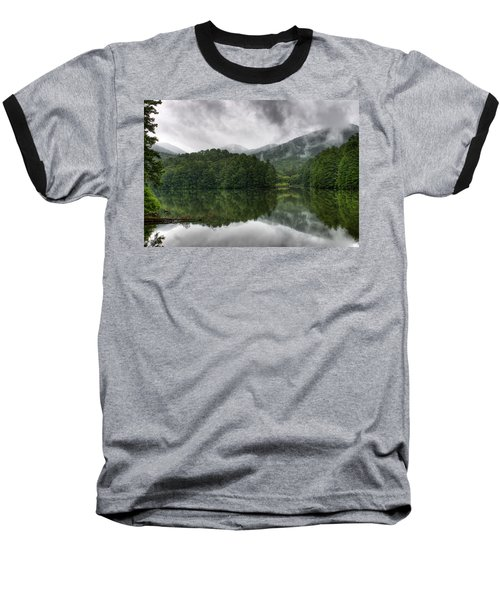Calm Waters Baseball T-Shirt by Rebecca Hiatt