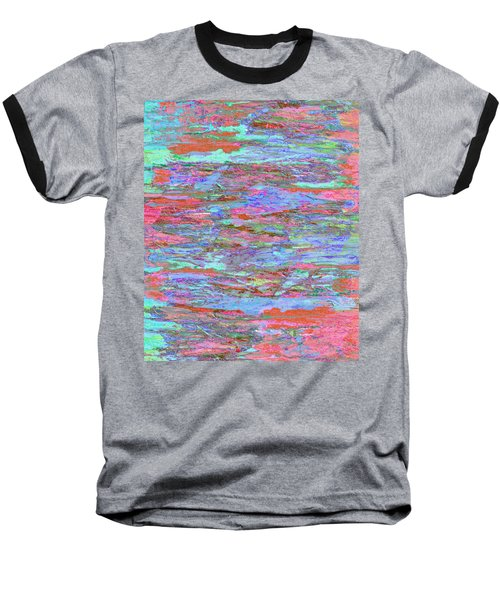 Baseball T-Shirt featuring the digital art Calmer Waters by Stephanie Grant