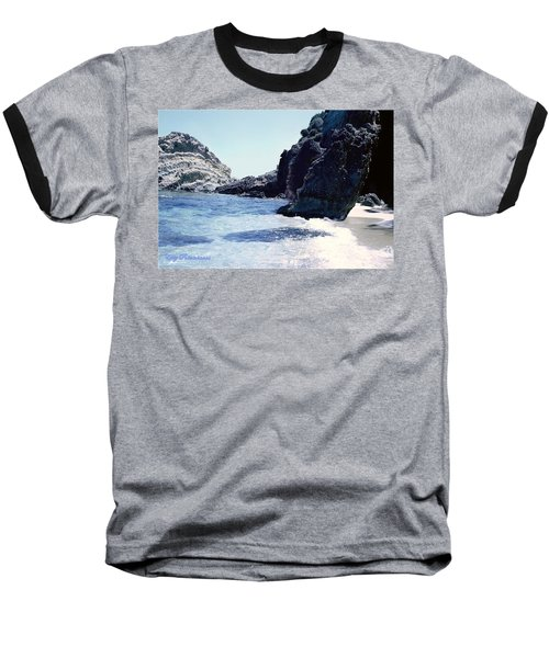 Calming Waves Baseball T-Shirt
