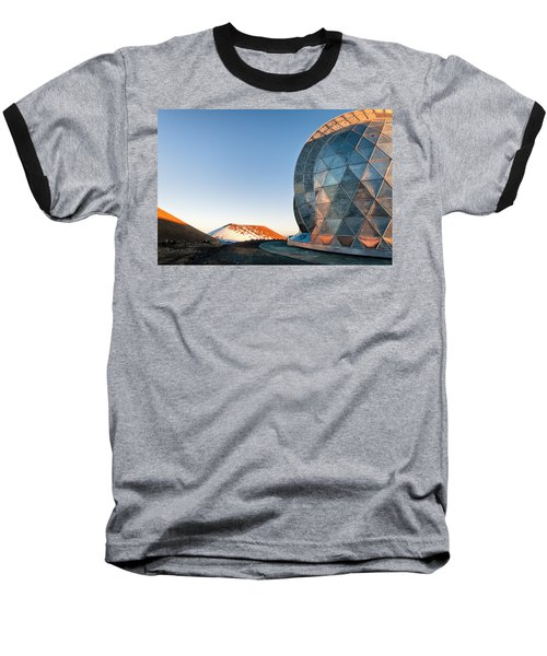 Baseball T-Shirt featuring the photograph Caltech Submillimeter Observatory by Jim Thompson