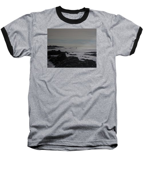 Cambria Tidal Pools Baseball T-Shirt