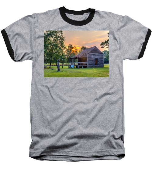 Camden Sunset Baseball T-Shirt by Rob Sellers