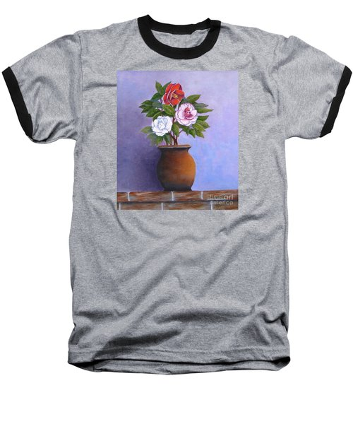 Camellia Bouquet Baseball T-Shirt