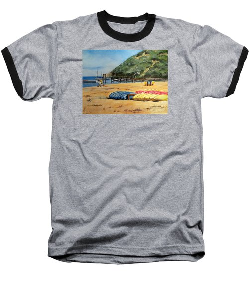 Camp Del Corazon  Baseball T-Shirt by Lee Piper