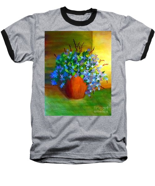Campanula In Terra Cotta Baseball T-Shirt